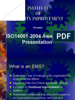 Presentation - IsO 14001