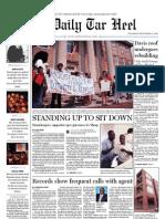 The Daily Tar Heel for September 9, 2010
