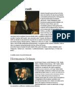 Charles Perrault y biografias de autores