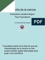 Filosofia de La Ciencia -Anarquismo Epistemologico Feyerabend