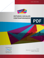 Revista Estudio Sociales Contemporaneos N°13 -