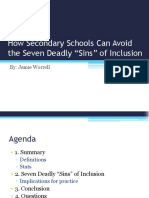 critical review - seven sins of inclusion