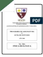 Física Biológica (Guía)