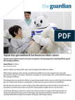 Japan Lays Groundwork for Boom in Robot Carers _ World News _ the Guardian