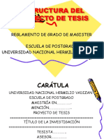 1. Estructura de Proyecto de Tesis