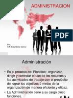 Teoría de La Administración - DALITO