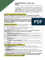 Derecho Administrativo - Recuperatorio