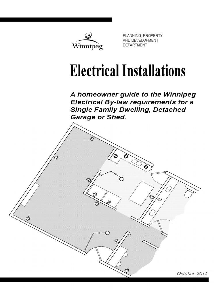 hoelec electrical wiring garage (residential)Electrical Plan Of Single Family Dwelling #16