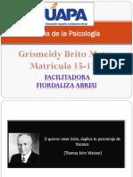 Historia de La Psicología-Grismeldy