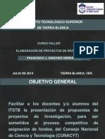 CURSO-TALLER PROPUESTAS DE INVESTIGACIÓN SECCIÓN I - copia.ppt