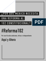 ¿Por Qué México Necesita Una Reforma Al 102 Constitucional