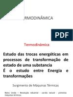 Termodinâmica Flávia