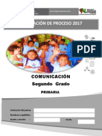 Evaluacion de Proceso Comunicacion 2017 2º Primaria