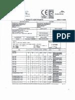 IPE & HEB Mill Certificate