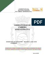 Normatividad de Carrera Administrativa 2018