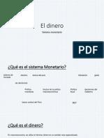 El Dinero y La Inflación (1)