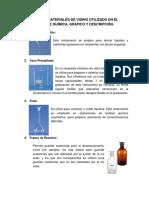 Consultar 30 Materiales de Vidrio Utilizado en El Laboratorio de Química