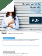 ENG B2.0104G Phrasal Verbs and Gerunds (1)