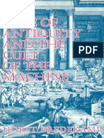 Horst Bredekamp the Lure of Antiquity and the Cult of the Machine