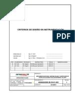 4.01 RTL-CRD-400-101-001-RC1, Criterios de Diseño en Instrumentación