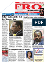Prince George's County Afro-American Newspaper, September 11, 2010