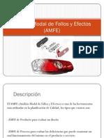 Análisis Modal de Fallos y Efectos (AMFE)