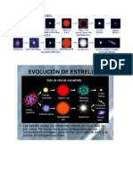 Evolucion de Estrellas