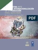 López, A. y Ramos D(2009) Inversión Extranjera Directa y Cadenas de Valor en La Industria y Servicios
