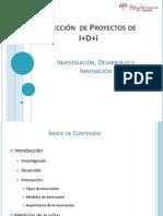 Tema 1 Investigación, Desarrollo e Innovación
