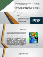 Factor Organizativo en Los SIG_Presentación