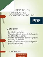 Supremos y Constitución 1843