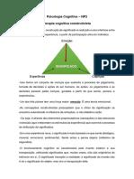 Psicologia Cognitiva - NP2
