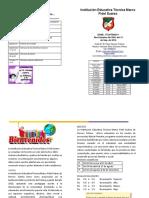 folleto inducción