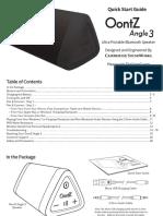 Angle 3 Manual 2017