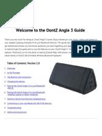 Oontz Angle 3 Manual PDF 2.0