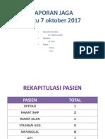 Jaga Bedah Sabtu 7 Oktober 2017