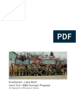 Knollwood – Lake Bluff Joint Fire / EMS Concept Proposal