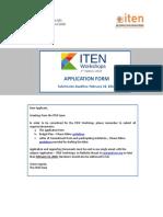 2 Application Form Workshop Final