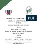 Tarea 2 DIS. DE SIST.ELECTRÓNICOS DE POTENCIA FIME
