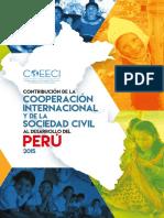 Estudio Contribucion de La Cooperacion Internacional y de La Sociedad Civil Al Desarrollo Del Peru