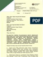 Surat Kppm Penyelarasan Waktu Mengajar Gdgpb Serta Gpm Di Negeri Melaka Kedah Yang Mendapat Khidmat Pembantu Guru Nbos Tahun 2017