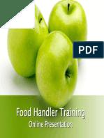 Food Handler Training Presentation