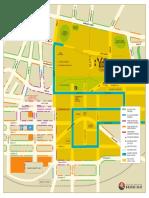 City of Greater Bendigo CBD Car Parking Map QBR 1