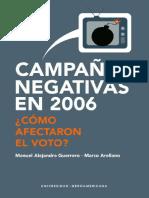 Portada campañas negativas en 2006