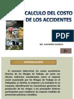Calculo Del Costo de Los Accidentes