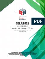 SILABUS OSN 2018