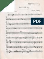 Danzon n°2 Violin