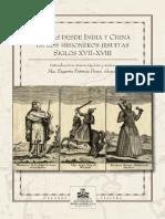 Portada cartas desde india y china