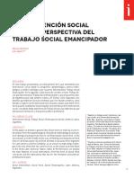 La Intervención Social Desde La Perspectiva Del Trabajo Social