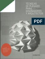 Paul Jackson Tecnicas de Plegado Para Diseñadores y Arquitectos